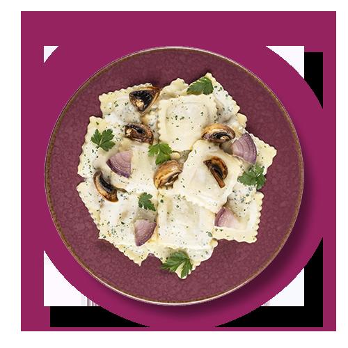 Ravioli Cèpes & Champignons Bio