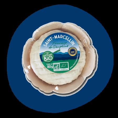 Saint Marcellin au lait Bio