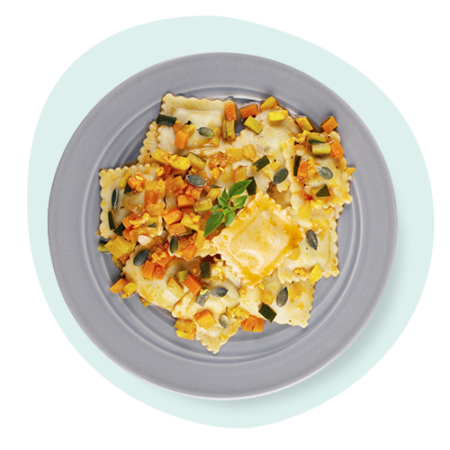 Ravioli Tofu & Basilic- recette sans œuf Bio